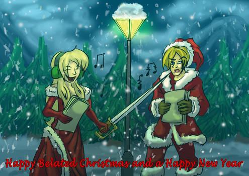 John and Cassandra's White Christmas