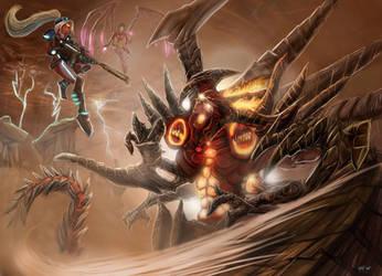 Diablo Prime Evil VS Nova and Kerrigan