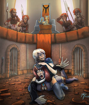 Alexichabane Art Trade: Battle Arena