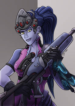 Overwatch Fanart: Widowmaker
