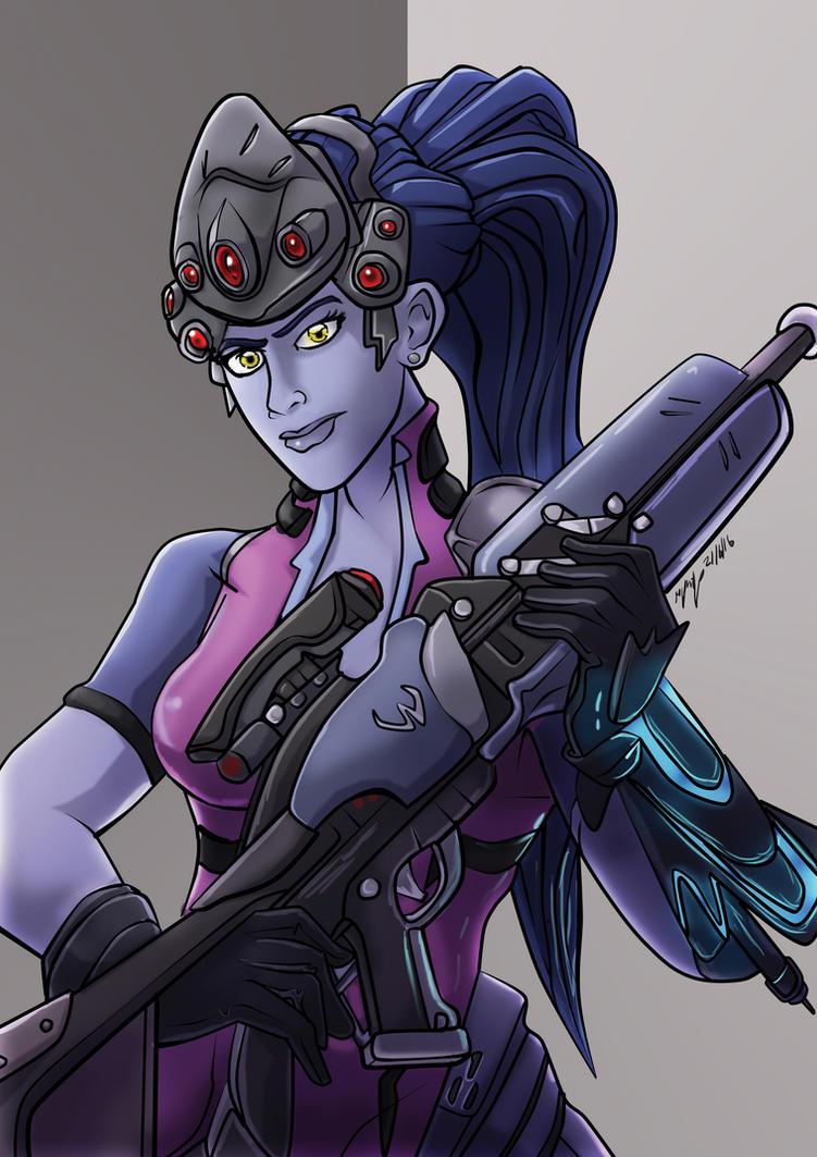 Overwatch Fanart: Widowmaker by MikeOrion