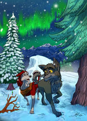 Balto Commission for PowerForcerRed by MikeOrion
