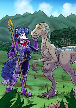 Commission: Krystal and Blue