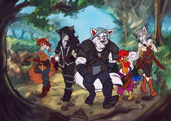 Witcher 3 / Robin Hood Mashup