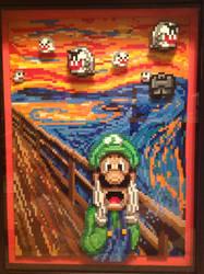 Luigi Scream by Rrilltrae