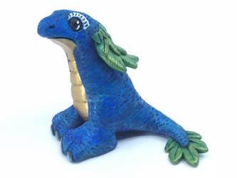 Peacock salamander by Rrilltrae