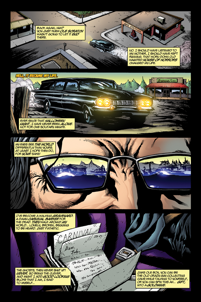 Funhouse of Horrors Page 1 by RudyVasquez