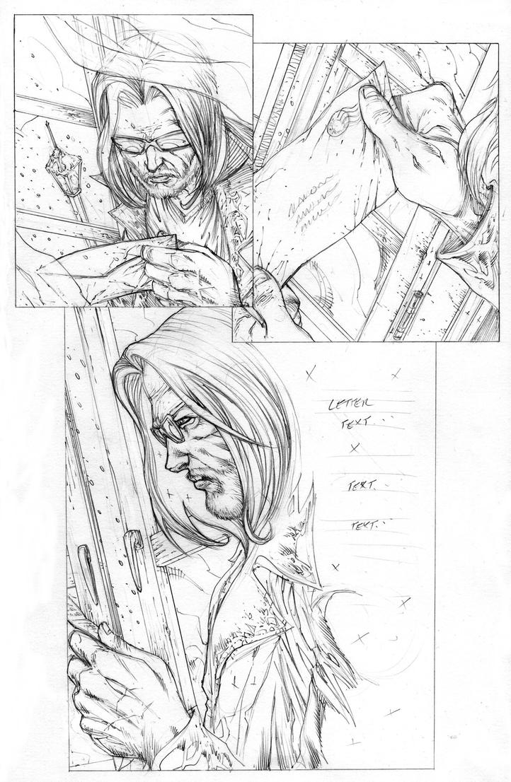 Funhouse of Horrors Issue 4 Page 3 Pencils by RudyVasquez
