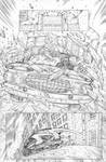 Funhouse of Horrors Issue 4 Page 4 Pencils