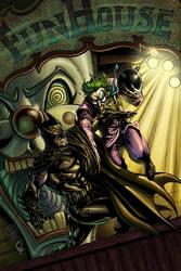 Batman vs Joker by RudyVasquez