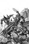 Wolverine and Batman vs Dark Claw