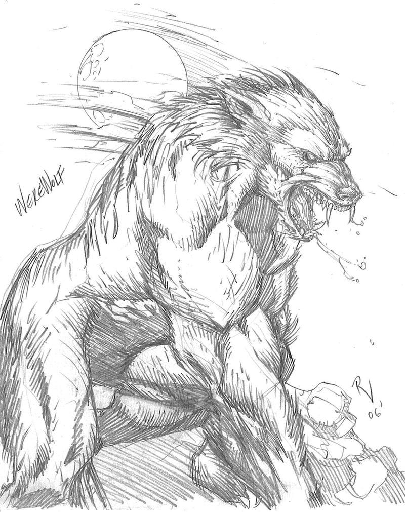 Werewolf by RudyVasquez