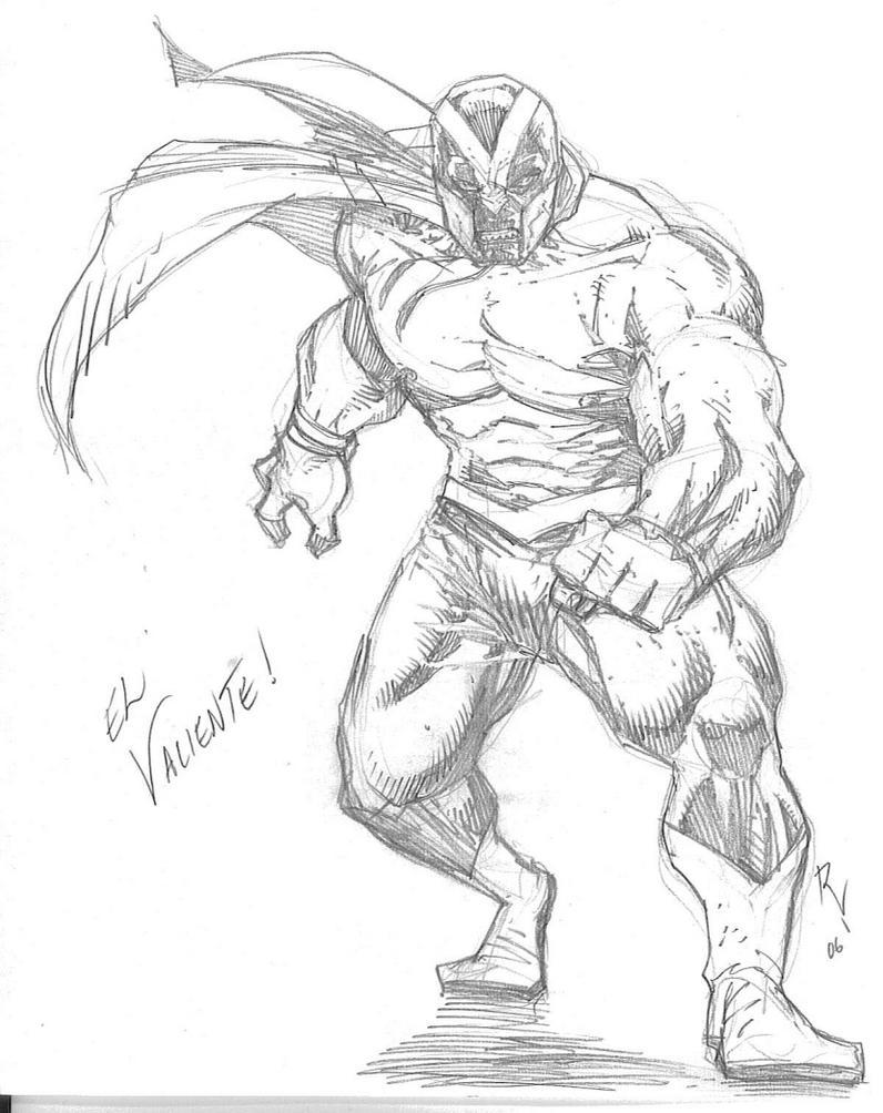 Character Sheet-El Valiente by RudyVasquez