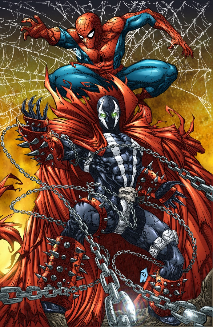 Spidey Spawn colors by RudyVasquez