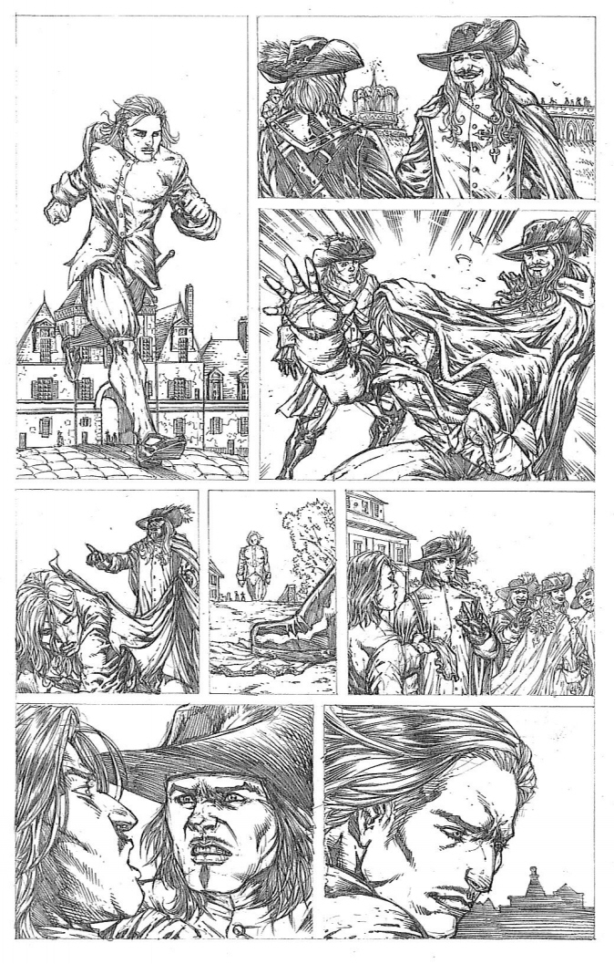 Musketeers page3 by RudyVasquez