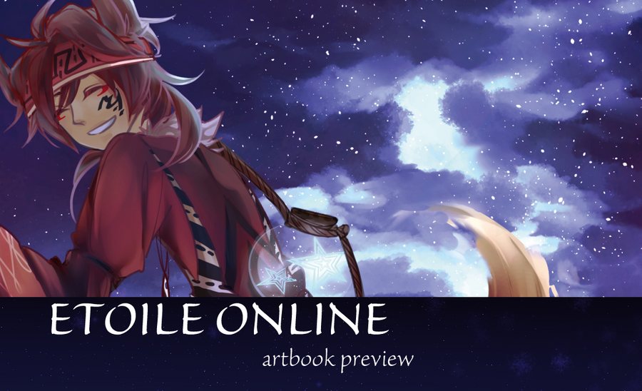Etoile Charity Artbook Preview by akanekari