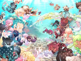 Reef Purrty! (DTA 1) by akanekari