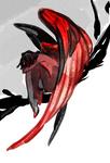 black|(red)