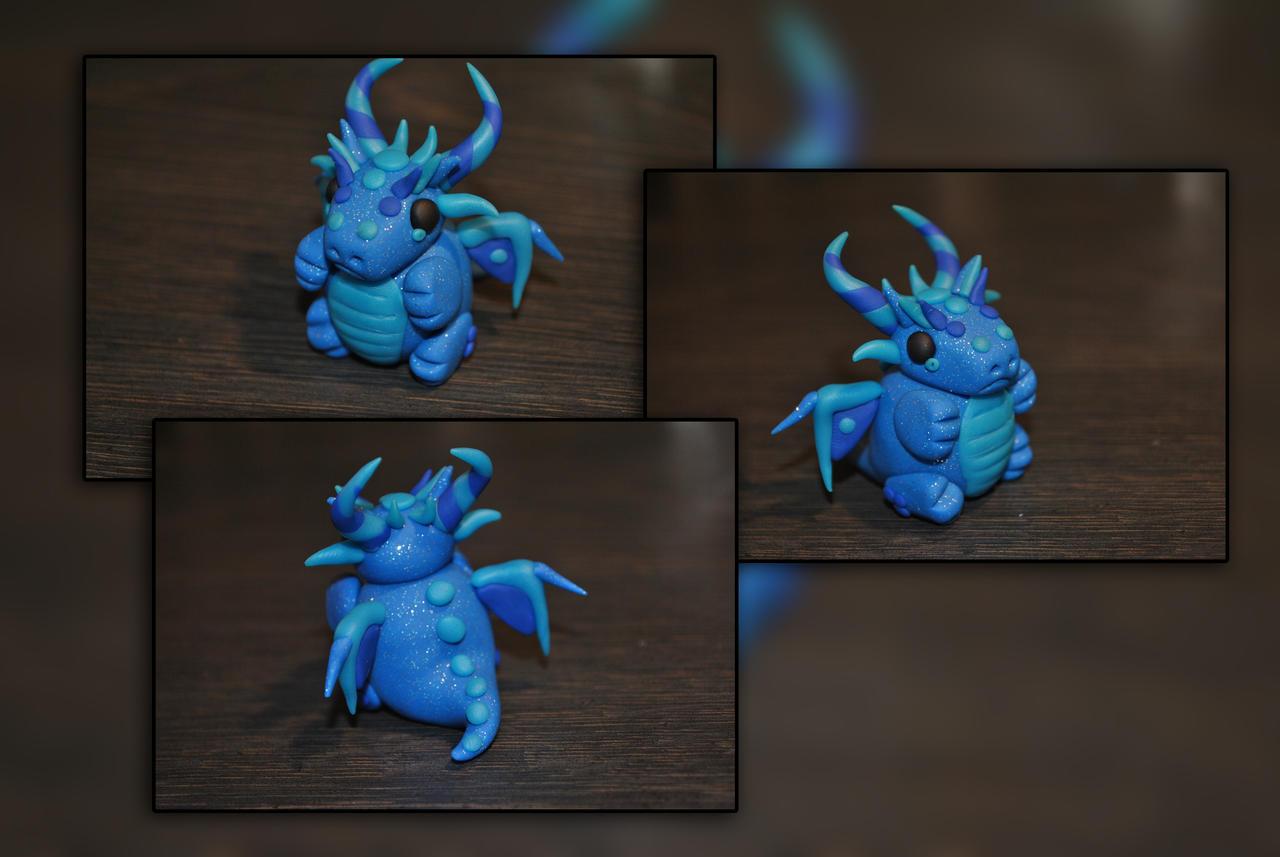 Fat Baby Water Dragon by KirstenBerryCrafts