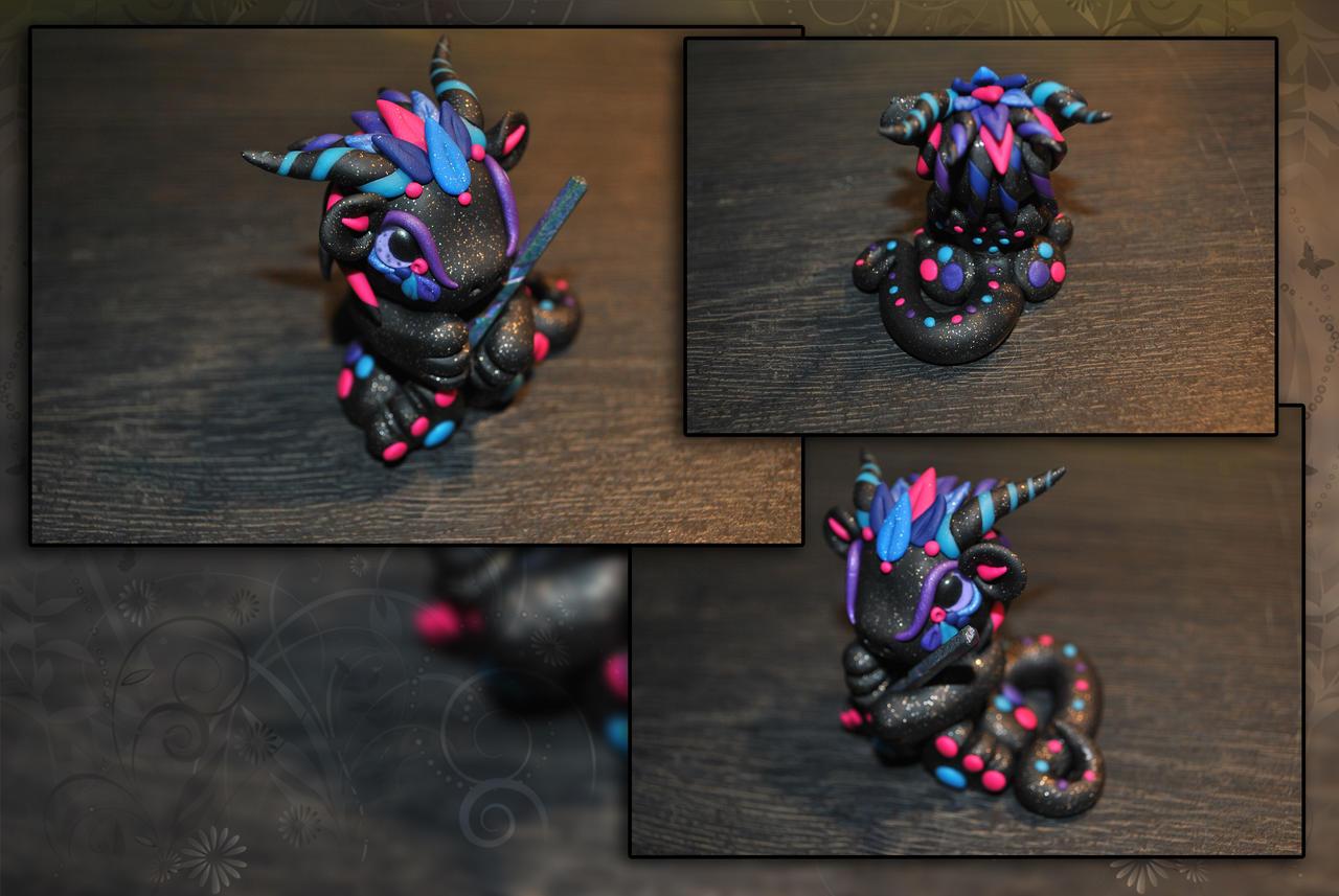 Titanium Galaxy Dragon
