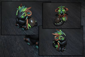 Woodland Egg Guardian Dragon