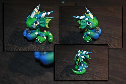 Ocean Bottle Dragon