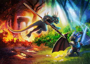 The Dragons of Fyremantle - Spearwall