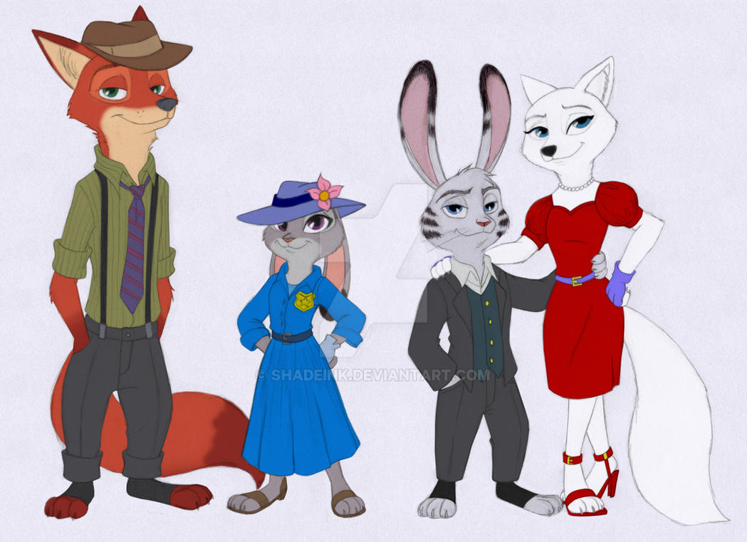 Zootopia - Who Framed Jack Savage by Shadeink