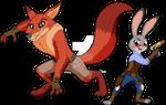 REDRAW - Zootopia Steampunk II