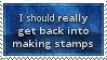 Make More Stamps Stamp