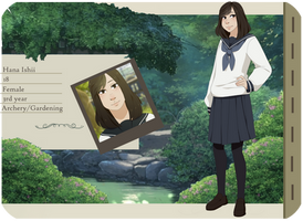 [Tsuiikimura] Hana Ishii Application by Geb-chan