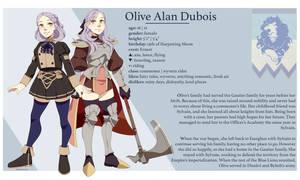 [fe oc] Olive Alan Dubois | Bio