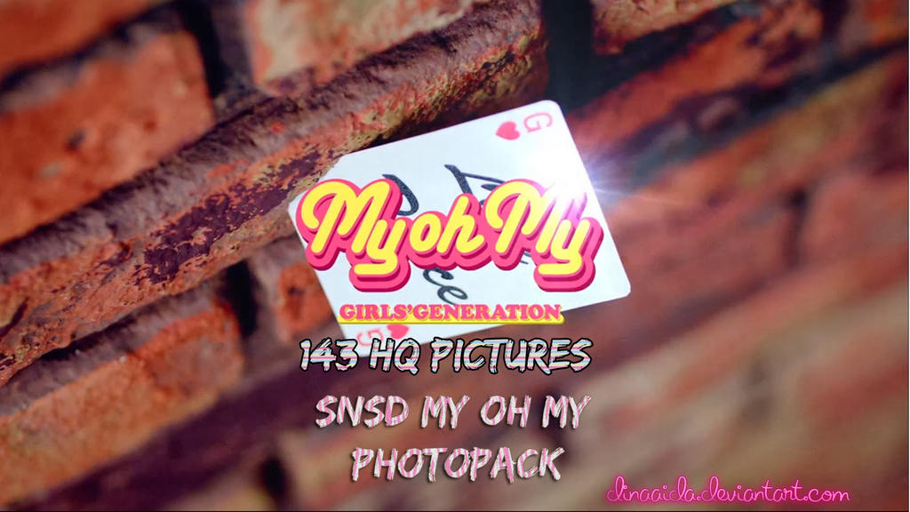 [PhotoPack] SNSD MY OH MY by dinaaida