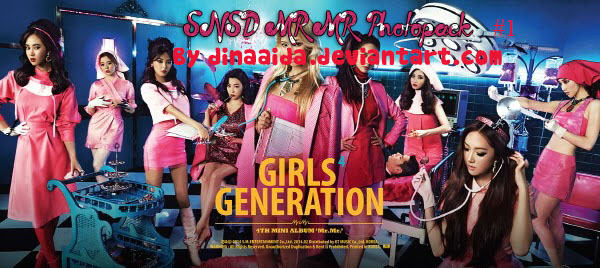 SNSD Mr Mr Photopack #1 by dinaaida
