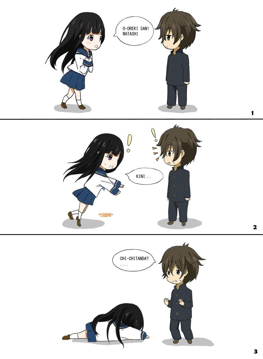 Hyouka Chibi comic part1 by KumiKoChan04