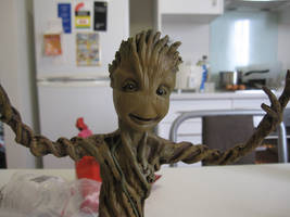Baby Groot finished