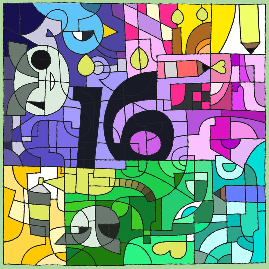 Happy birthday DA 16 by ZENO666