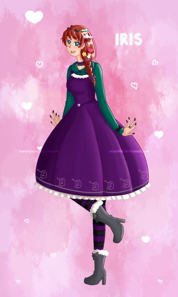 Iris in Lolita Style by ZENO666