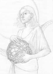 Tithe Drawing by LaughingAstarael