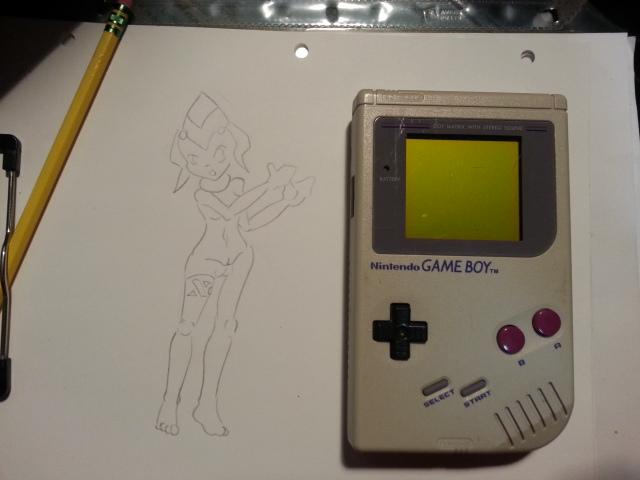Front of a Game Boy by Kesoroda-MKB