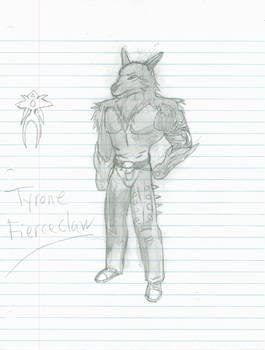 Practice: Tyrone Fierceclaw