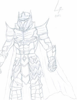 Concept: Dark Council Leader's Armor