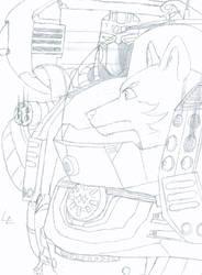 CO: Jagerwolf (Sketch)