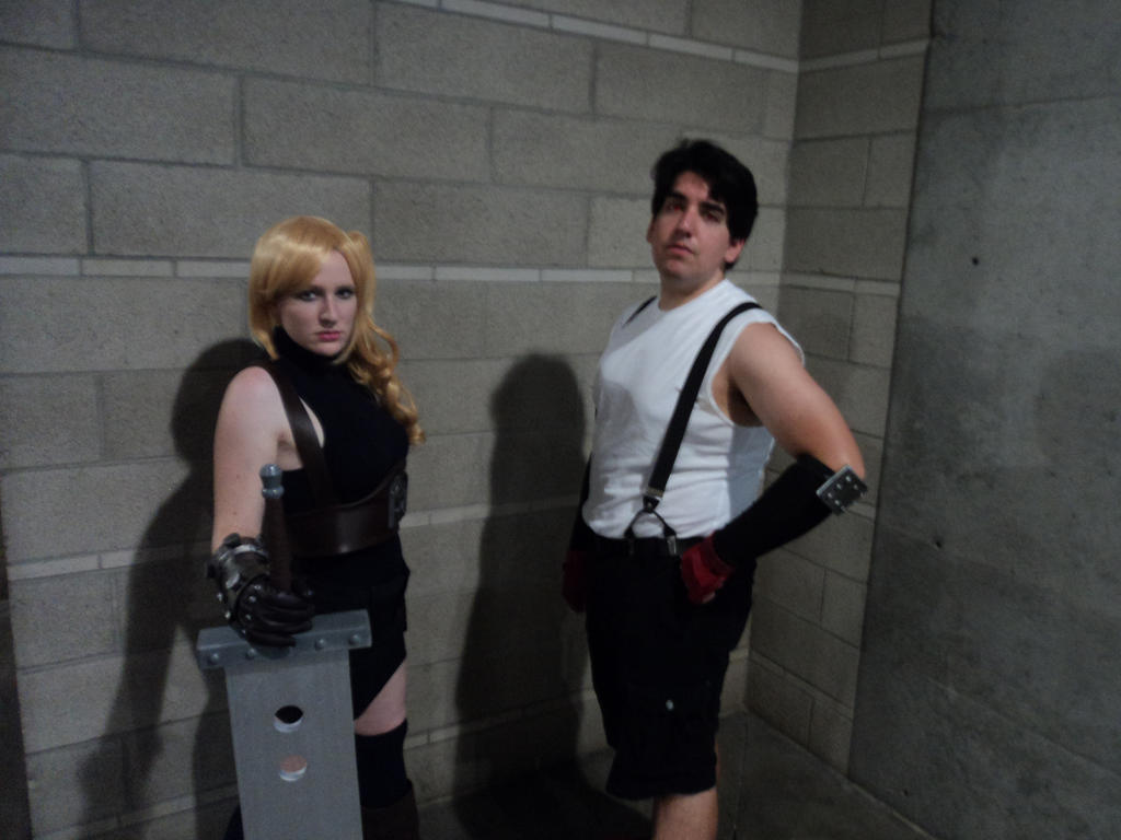 Cloud and Tifa by MeahowCosplay