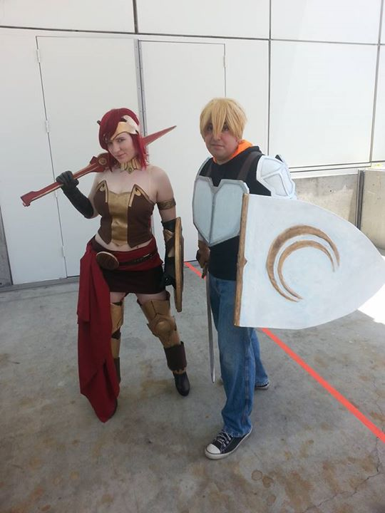 Jaune and Pyrrha by MeahowCosplay