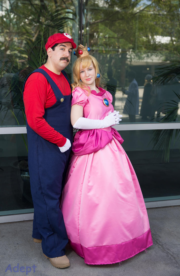 The Princess and the Plumber by MeahowCosplay
