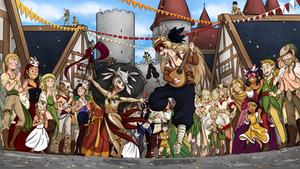 Elven Festival - Morrigan by Elwensa