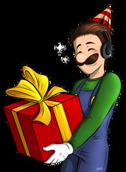 Happy Birthday Luigikid! by Elwensa