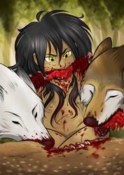 Successful Hunting - Morrigan by Elwensa