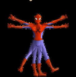 Vitruvian Spider - FERMEZ LA by Elwensa